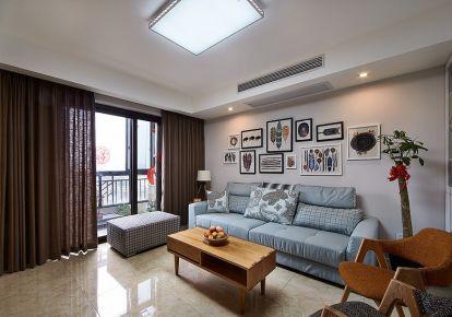 简约而不简单 二居室简约风格装修效果图