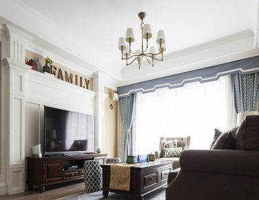 灵感美式 天津二居室美式风格装修