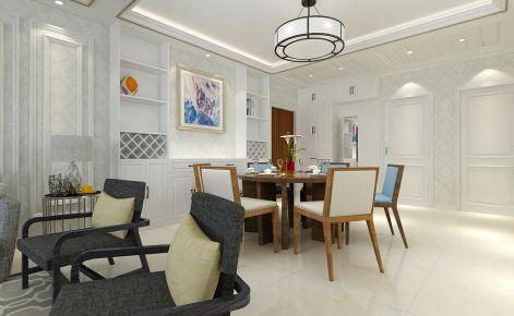 德州双企龙城国际 三居室简约风格装修设计