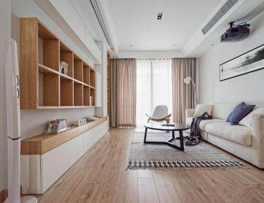 自然和风 三居室简约风格装修设计