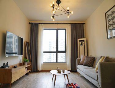 现在北欧混搭 二居室装修设计