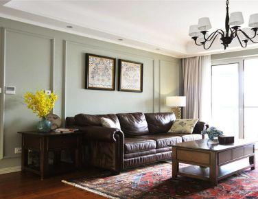 复古美式 三居室装修设计