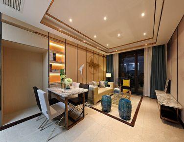 无间 三居室现代风格装修