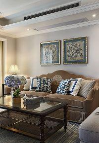 三居室简美风格装修效果图
