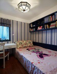 天津地中海风格二居室装修