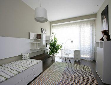 朗诗花漫里 二居室现代风格设计