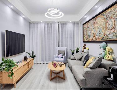 天津简约混北欧风家庭装修设计