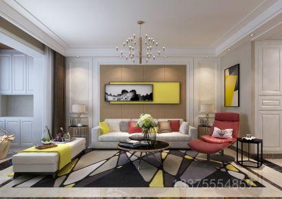 140平米现代风格三居室装修