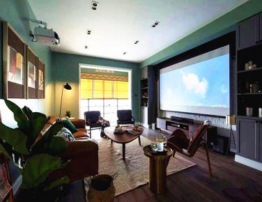 现代混搭 三居室装修设计效果图