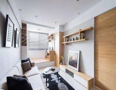 清爽现代 二居室装修设计欣赏