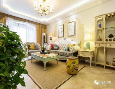 三居室欧式混搭家庭装修设计