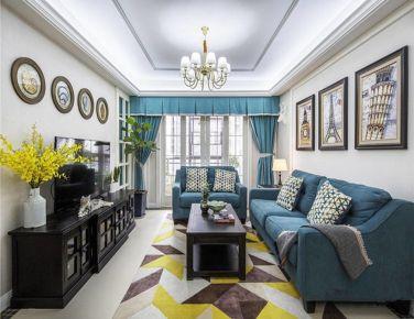 简约美式  三居室装修设计