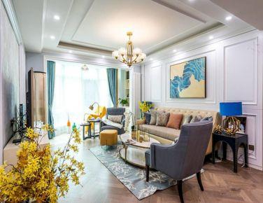 摩登美式 二居室装修设计欣赏