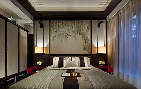 三居室中式装修风格效果图