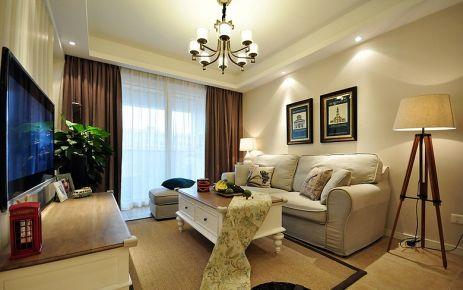 二居室美式装修效果图欣赏