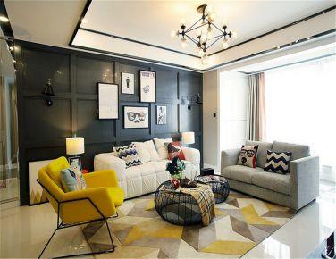 童趣现代风格 两房装修设计欣赏