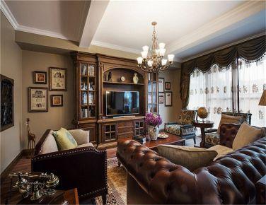 怀旧美式 三房装修设计欣赏