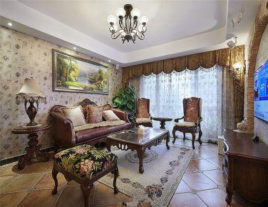寻找繁华以外的安静 美式风格三房装修欣赏