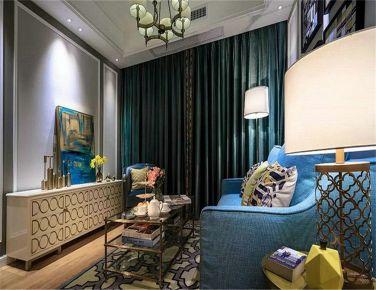 创意混搭 二居室现代风格装修效果图