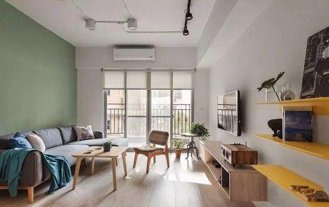 小清新 二居室现代风格装修设计