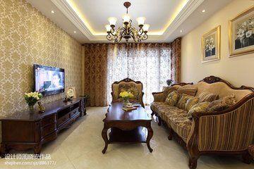 深圳梅林关 欧式风格两房装修欣赏