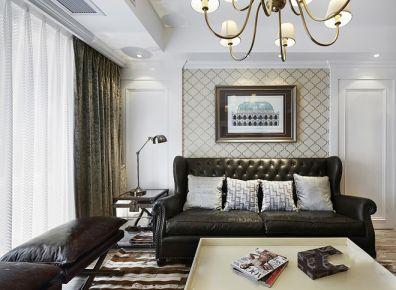 天津现代二居室装修效果图