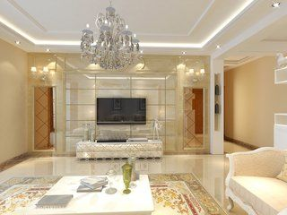 深圳锦绣山庄 两房欧式风格装修设计