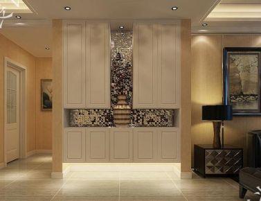 欧式装修风格三房设计效果图