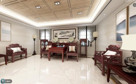 中山中式别墅装修设计欣赏