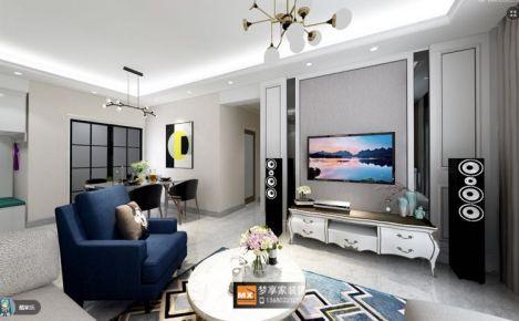 中山欧式风格两房装修效果图欣赏