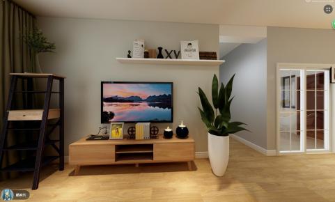 中山北欧风格四居室装修效果图