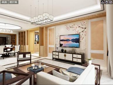 中山中式韵味四房装修设计