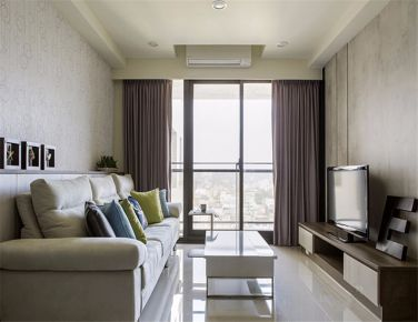 暖 现代风格两房装修欣赏