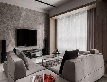 天津时尚前卫三居室现代风格装修