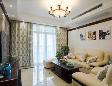骄阳 天津中式风格两房装修效果图