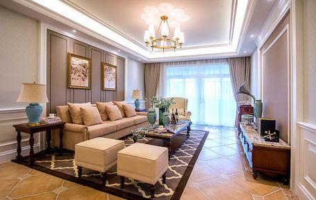 两房美式风格装修设计欣赏