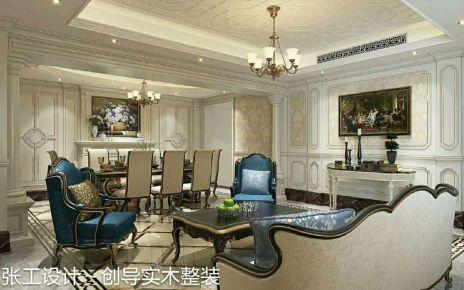 深圳万象城 复式欧式风格装修设计