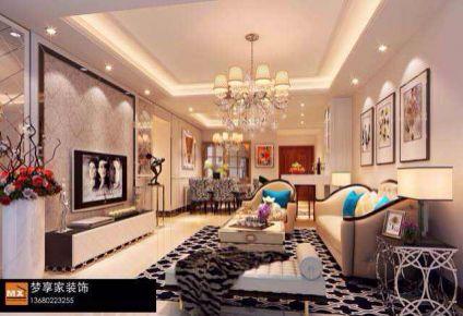 奥园-简欧风格三房装修设计