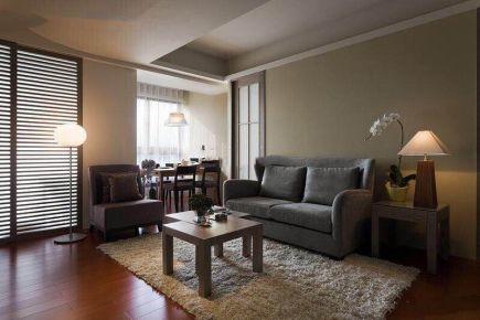 烟台北欧现代风格三居室