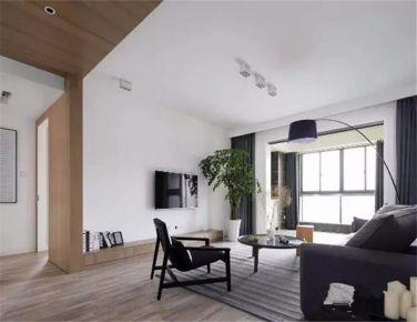 现代简约两房装修设计效果图