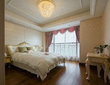 尊贵欧式风格二居室装修效果图