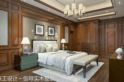 深圳纯水岸 中式风格复式楼设计