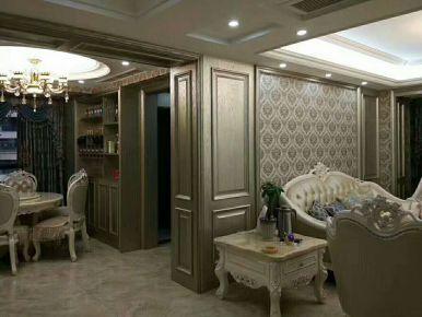 碧水龙庭 创意混搭三居室装修