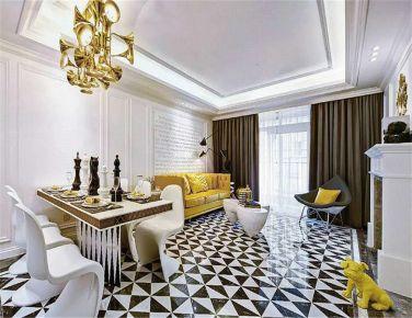 阳光 美式风格两房装修设计