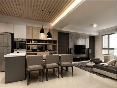 品味生活 三居室现代风格装修