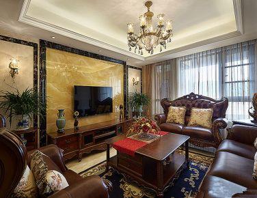 天津古典欧式风格三房装修设计