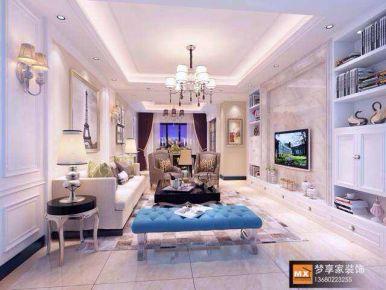 中山奥园-欧式风格四居室装修效果图