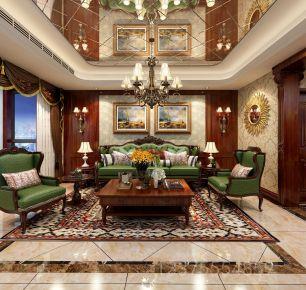 美式风格复式楼装修设计