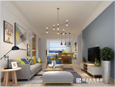 南宁嘉和城塞纳右岸 简约风格家庭装修设计