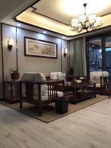 重庆生活家装饰 130平米新中式风格装修
